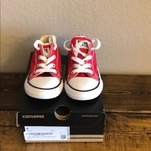 Toddler Red Converse